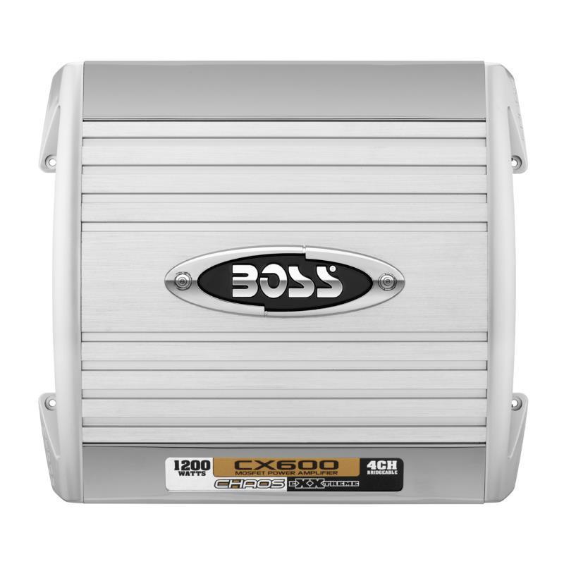 Amplificador Boss 4 Canales Chaos CX600 800W