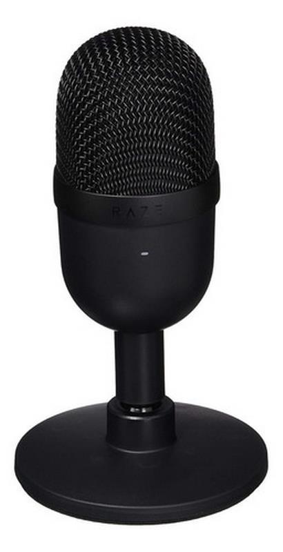 Microfono Pc Razer Seiren Mini Condensador Supercardioide Ultra Compacto Black