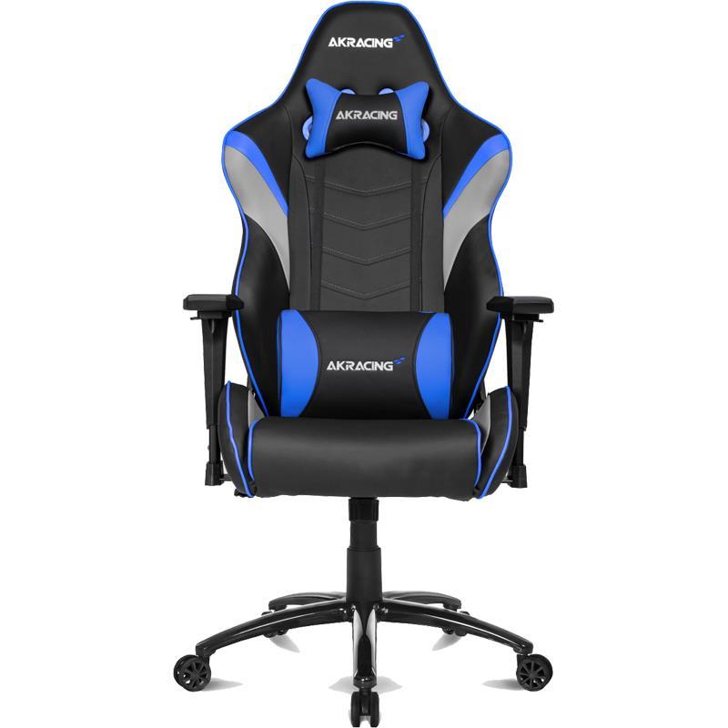 Silla Gamer AK Racing LX Negra y Azul