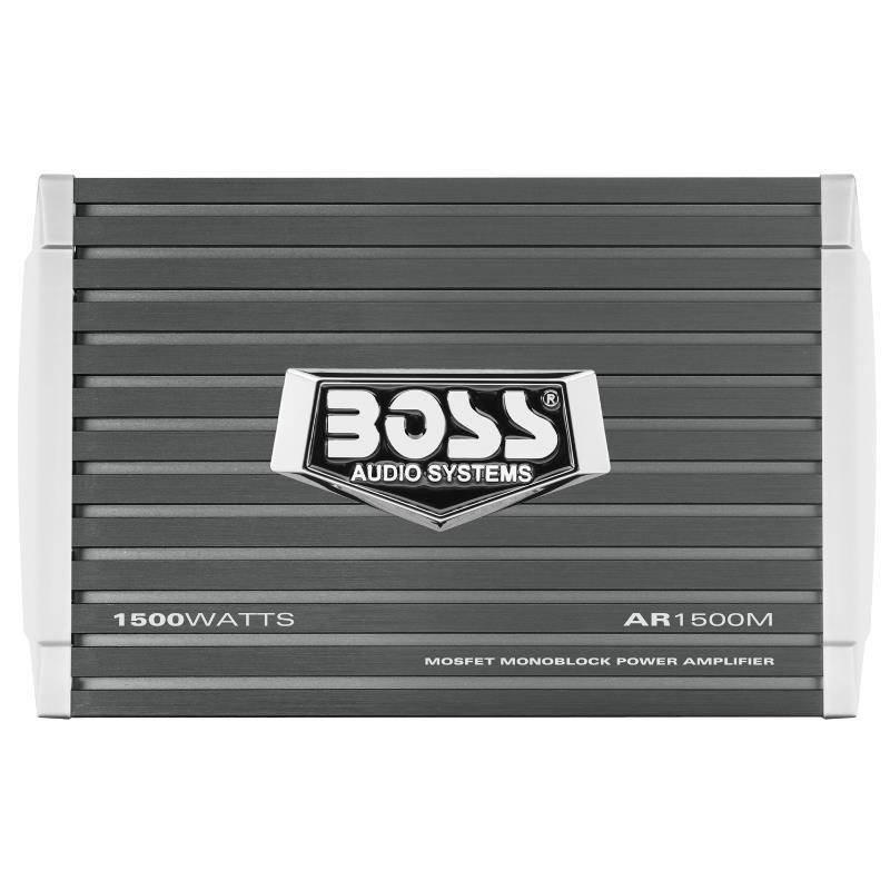 Amplificador Monoblock Boss AR1500M 1500W Clase A/B