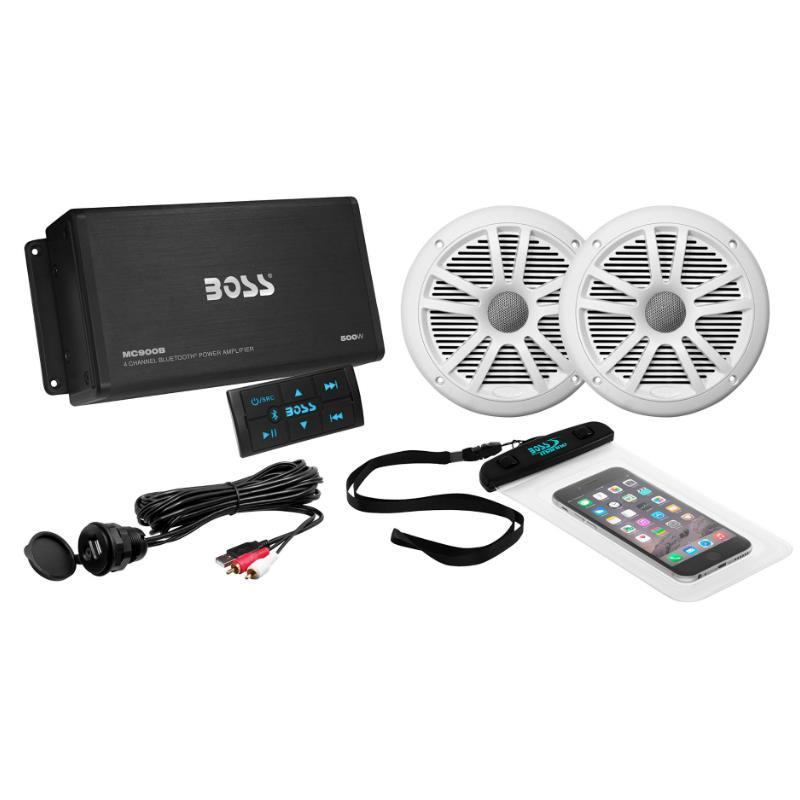 Combo Amplificador + Parlantes y Accesorios  Boss ASK902B.6