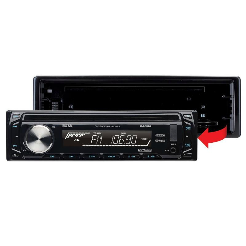 Stereo Boss 648UA - Single Din