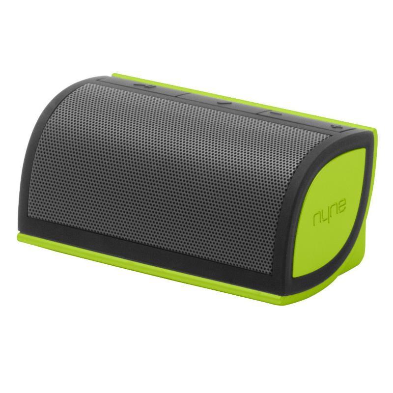 Parlante Nyne Mini Portable Bluetooth Verde/Gris 5W