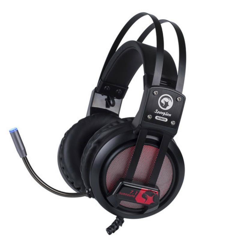 Headset MARVO HG9028 7 LED 7.1 USB Black
