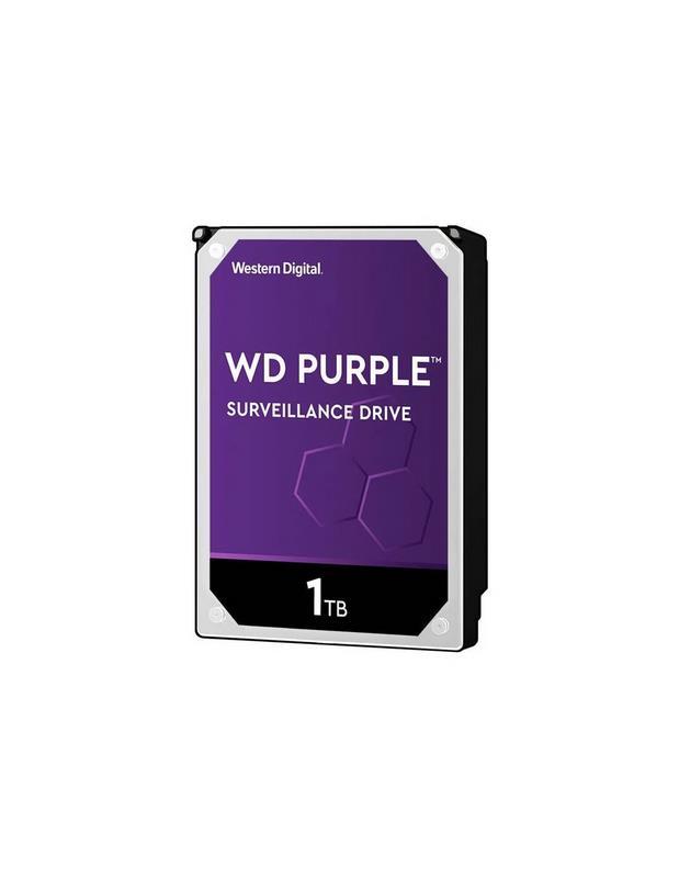 Disco Rígido WD Purple 1TB (Videovigilancia)